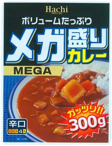 ハチ食品 メガ盛りカレー 辛口 300g×3個