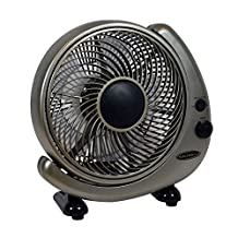 Soleus Home FT-25-A Table or Wall Oscillating Fan, 10-Inch
