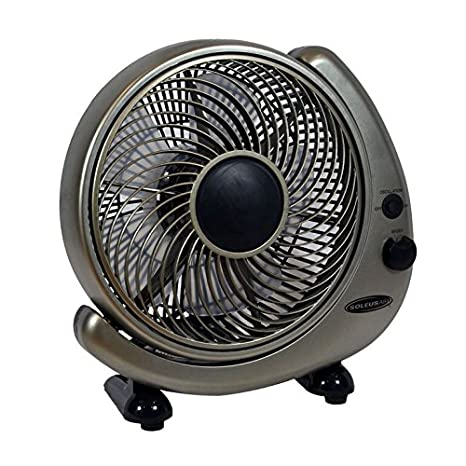 Amazon.com: Soleus FT-25-A Ventilador de mesa o pared, 10 ...