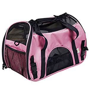 Amazon Com Super Buy Large Pet Carrier Oxford Soft Sided