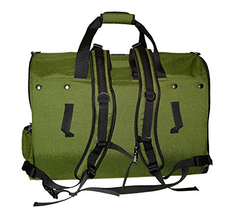 Celltei Backpack-o-Pet - Cordura(R) Green - Large Size