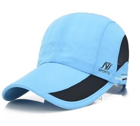 e70de1fc Womens Summer Quick Drying Mesh Baseball Cap Adjustable Flex Fit Waterproof  Thin Lightweight Cap Twill Cadet