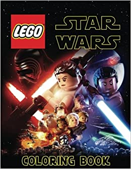 Amazon.com: LEGO STAR WARS: Coloring Book for Kids and Adults - 40 ...