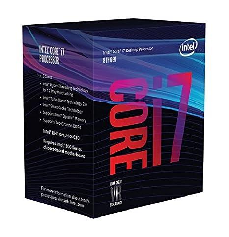 Intel bx80684i78700 Core i7 – 8700 Procesador Plata