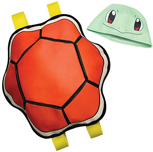 Rubie's Squirtle Headpiece & Stuffable Back Pack Pokemon Costume Kit Accessories
