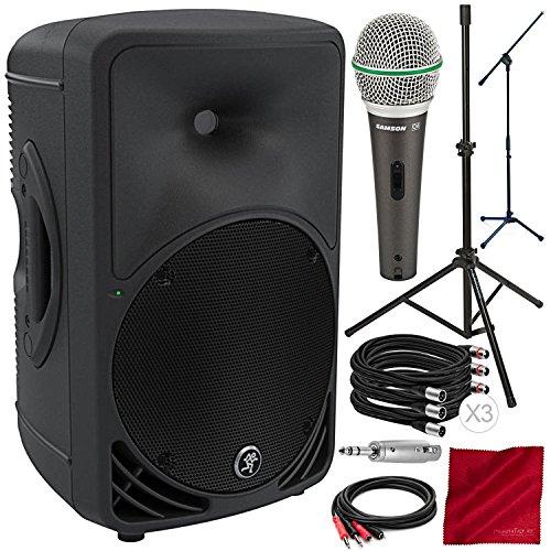 High Definition Powered Loudspeaker - Mackie SRM350v3 1000 Watts 10