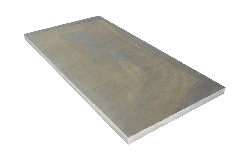"1/4 Inch 6""x12"" 6061 Aluminum Tooling Flat Sheet Plate Bar Mill Stock"