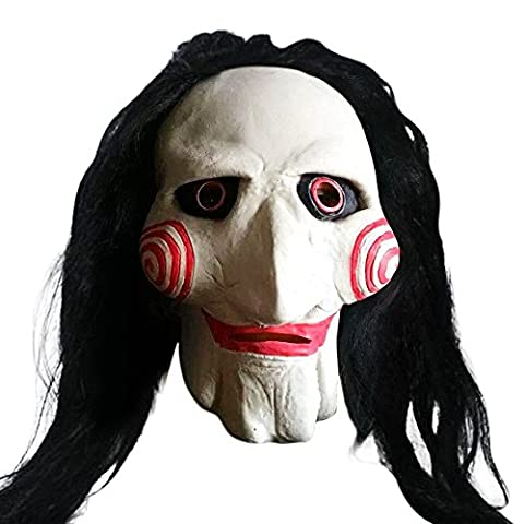 Han Shi Zomibe Mask Latex Creepy Scary Ugly Mask Halloween Party Costume for Adults