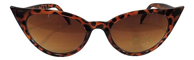 Vintage 1950 estilo 50s de ojo de gato gafas de sol UV400 mujer Retro Fashion