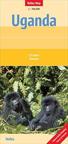 Uganda: 1:700.000 (Nelles Map)