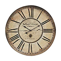 Sterling 118-042 Carte Postal Wall Clock
