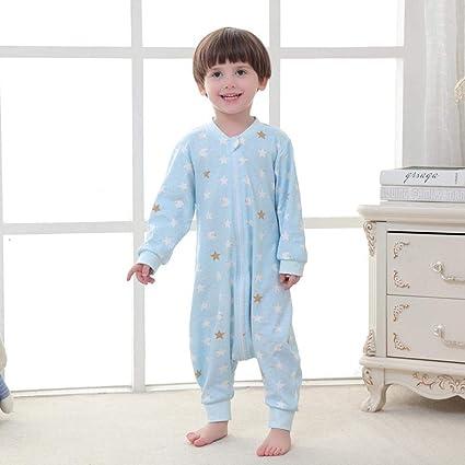 Gleecare Saco de Dormir para bebé,Hombres y Mujeres bebé Anti-Kick edredón Pijamas