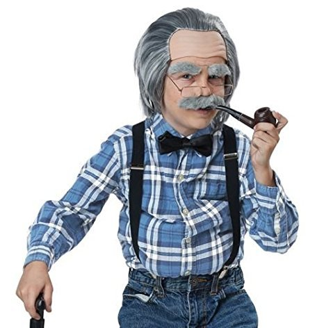 California Costume Old Man Costume Kit from PartyZoneUSA …