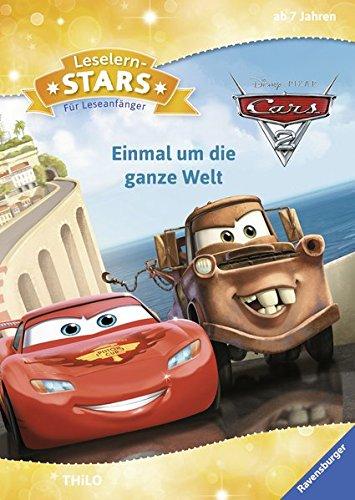 Leselernstars Disney Cars 2: Einmal um die ganze Welt: Für Leseanfänger