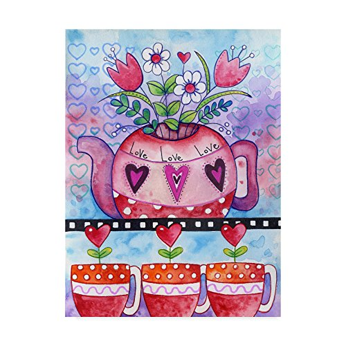 Love You Tea by Valarie Wade, 18x24-Inch for sale  Delivered anywhere in USA