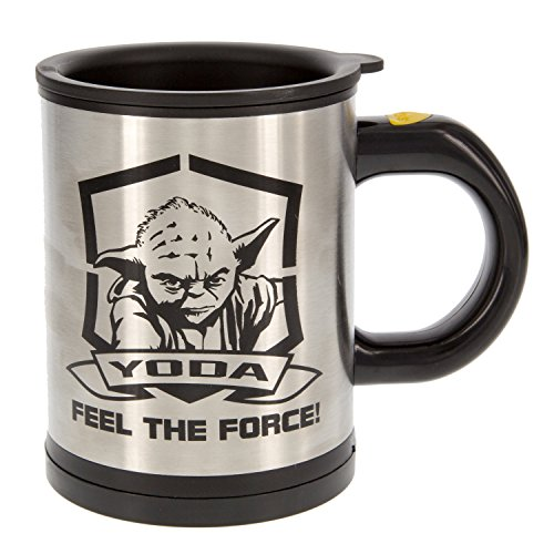 Star Wars Mug Self-Stirring/Yoda