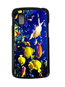 All Kinds of Fish In Undersea World DIY Hard Shell Black Google Nexus 4 Case Perfect By Custom Service