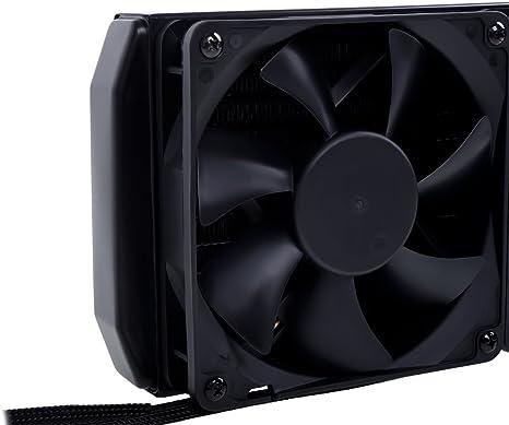Alphacool Eisbaer 240 CPU Procesador - Refrigeración (Negro, 30 mm ...