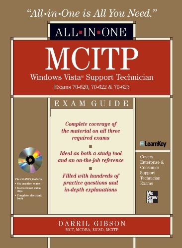 Download MCITP Windows Vista Support Technician All-in-One Exam Guide (Exam 70-620, 70-622, & 70-623): Exams 70-620, 70-622, and 70-623 Pdf