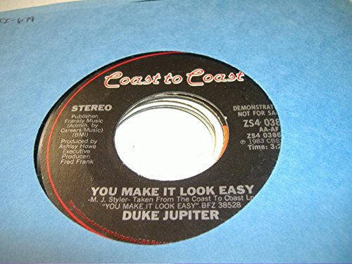 DUKE JUPITER 45 RPM You Make It Look Easy / - Jupiter Mall