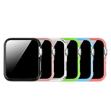 d030c3a7243 Fintie [6 Color Pack] Funda para Apple Watch: Amazon.es: Electrónica