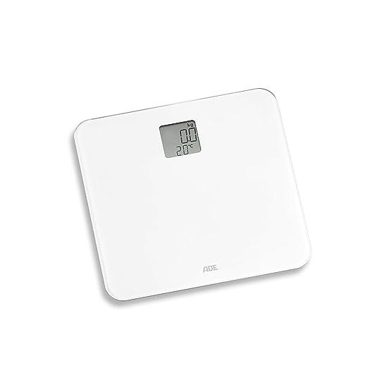 ADE Báscula digital de baño BE 1710 Sila. Báscula Electrónica y termometro. Pesa con exactitud hasta 150 Kg. Color Gris.: Amazon.es: Salud y cuidado ...