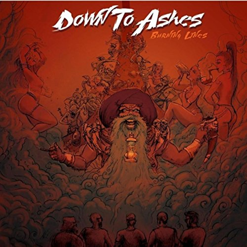 Down To Ashes - Burning Lines (2018) [FLAC] Download