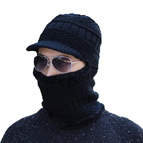 De Invierno Prueba Viento Esquí Para De negro Flap Winter De Bombero Ear Cálido A De Unisex Mujer SOOCO Gorro Sombrero qFwTTz
