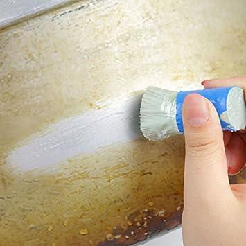 ... cocina para limpieza de productos químicos domésticos, herramientas de limpieza de acero inoxidable, cepillo de limpieza para sartenes: Amazon.es: Hogar