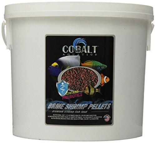 Cobalt Aquatics Brine Shrimp Pellet, 8 lb by Cobalt