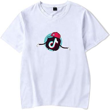 Muchacha de los Deportes TIK Tok Camiseta, Verano de la Muchacha, Camisetas de Deporte recreativo neutros, Camisetas de Aficionados a la música Camisetas (Color : #9, Size : XXXL): Amazon.es: Ropa y accesorios