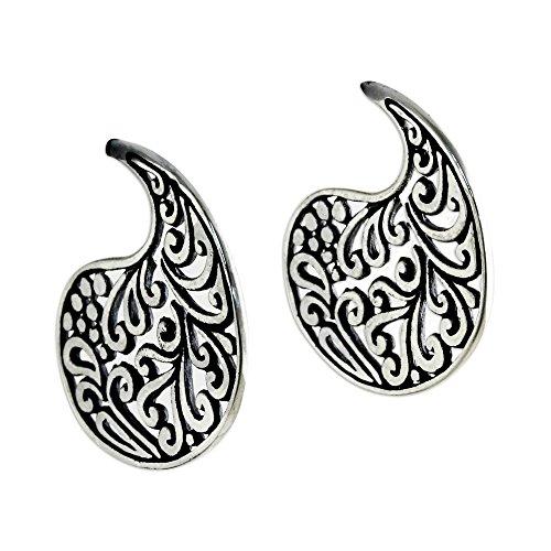 NOVICA .925 Sterling Silver Drop Earrings, Ornate ()