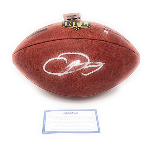 Odell Beckham Jr Cleveland Browns Signed Autograph Authentic NFL Duke Football Steiner Sports Certified ()