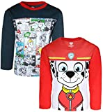 Nickelodeon Paw Patrol Boys Long Sleeve T-Shirt, Pow!! Marshall, Size 7'