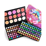 183 Colors Eyeshadow Blush Bronze Highlight Palette Make up Kit [version:x6.6] by DELIAWINTERFEL