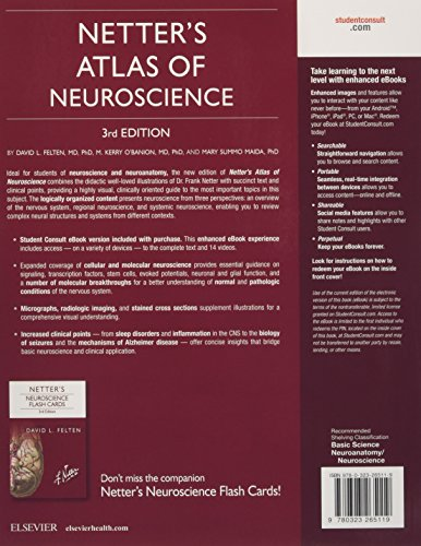 Netter's Atlas of Neuroscience, 3e (Netter Basic Science)