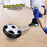EpochAir Hover Ball, Girl Boy Toys, Hockey Football 2-in-1 Floating Girl Boy Gifts with Reinforced Battery Cover, Mini Screwdriver, Foam Bumpers and Colorful LED Light for Indoor & Outdoor Games