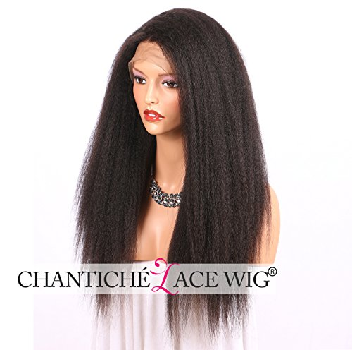 Chantiche Italian Yaki Lace Front Human Hair Wigs For Black Women Best Brazilian Remy Hair Glueless Lace Wig With Baby Hair
