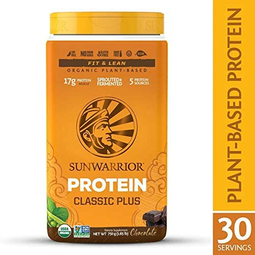 Sunwarrior Classic Protein Chocolate Servings product image