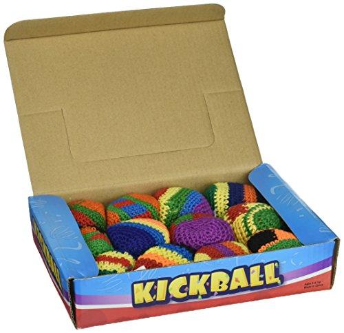 Hackey Sacks Knitted Kick Balls (Pack of 12) by Fun Express (Image #1)