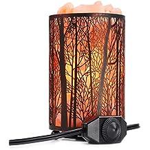 Arvidsson Himalayan Salt Lamp, Natural Hymalain Pink Rock Salt Lamps with Dimmer Switch (4.4-5lbs, 4.1x6.5''), 25Watt Bulb & ETL Certified Cord, Warm Lighting & Best Gift Ideas