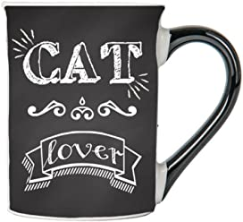 Cat Lover Mug, Cat Lover Coffee Cup, Ceramic Cat Lover Mug, Custom Cat Lover Gifts By Tumbleweed