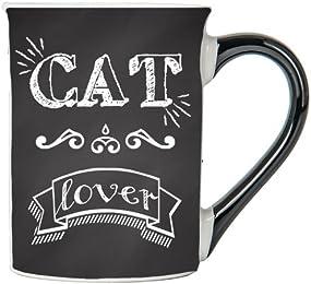 Cat Lover Mug, Cat Lover Coffee Cup, Ceramic Cat Lover Mug, Custom Cat Lover Gifts By Tumbleweed