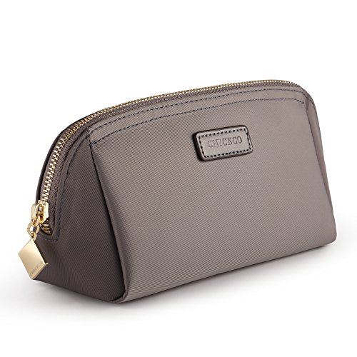 - CHICECO Handy Cosmetic Pouch Clutch Makeup Bag - Grey