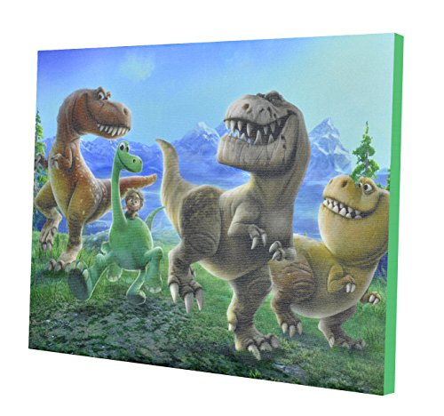 Disney Good Dinosaur Canvas LED Wall Art (Dinosaurs Wall Art)