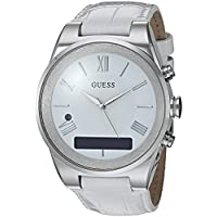 Guess Connect Stainless Steel Women's Smart Watch (Amazon Alexa, iOS and Android Compatible)
