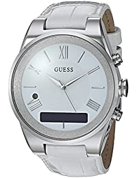 Women's Stainless Steel Connect Smart Watch - Amazon Alexa, iOS and Android Compatible, Color: Silver (Model: C0002MC1)