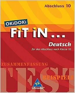 Okidoki Fit In Okidoki Fit In Deutsch Für Den Abschluss