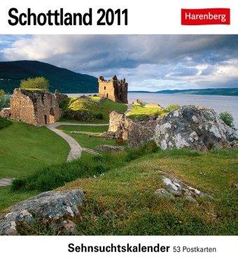 Schottland 2011: Sehnsuchts-Kalender. 53 heraustrennbare Farbpostkarten