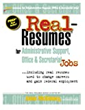 img - for Real-Resumes for Administrative Support, Office & Secretarial Jobs book / textbook / text book